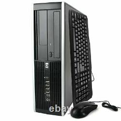 HP Desktop Computer Fast CPU Windows 10 Bundled with 17 LCD Keyboard Mouse WiFi
