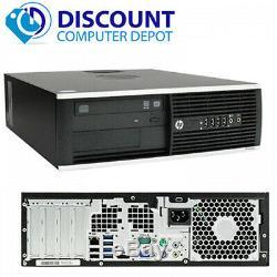 HP Desktop Computer Intel Core i3 3.3Ghz Windows 10 4GB 500GB 22 LCD Mon Wifi