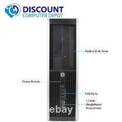 HP Desktop Computer Intel Dual Core 4GB 250GB HD 17in LCD WIFI DVD Windows 10 PC