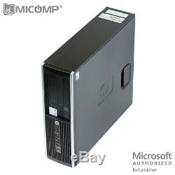 HP Desktop Computer & LCD I5-3470 Quad Core i5 3.2Ghz 8GB WiFi Windows 10 PRO PC