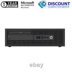 HP Desktop Computer PC Core i3-6100 500GB HD 16GB RAM Windows 10 19 LCD DVD