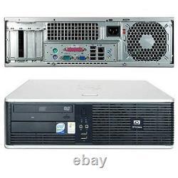 HP Desktop Computer PC Intel 2.13GHz 4GB 160GB HD Wifi DVD 17 LCD Windows 10