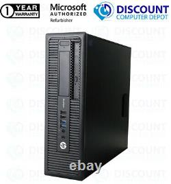 HP Desktop Computer SFF Intel Core i3 8GB 256GB SSD DVD Windows 10 Home PC WIFI