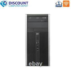 HP Desktop Computer Tower Quad Core i5 8GB 128GB SSD DVD Wifi Windows 10 Pro PC