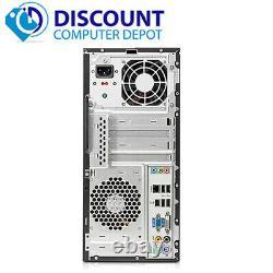HP Desktop Computer Windows 10 Tower Intel Core 2 Duo PC 4GB 320GB 19 LCD Wifi