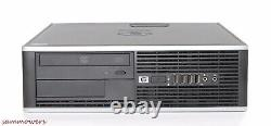 HP Desktop PC Computer Core 2 Duo 19 Monitor 16GB Ram 1TB Win 10 WiFi speakers