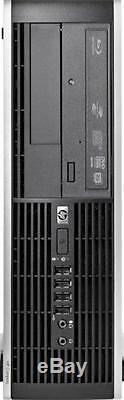 HP Desktop PC Computer Core 2 Duo 4GB RAM DUAL 19 LCD Monitor WIFI Windows 10