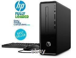 HP Desktop PC Computer WIN10 16GB 1TB Bluetooth DVD+RW HDMI WiFi (FULLY LOADED)