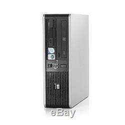HP Desktop PC Computer Windows 10 Core 2 Duo 4GB Ram 1TB WiFi 19 Monitor FAST