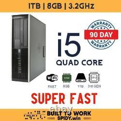HP Desktop PC Win10 1TB HDD Premium WiFi FAST 8GB s9