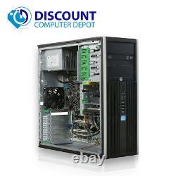 HP Desktop PC i3 Computer Tower Windows 10 Core 8GB Ram 500GB Wifi DVD-RW