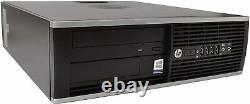 HP ELITE 8300 Desktop Computer Intel Core I3 8GB RAM 500GB HD PC Windows 10 WiFi