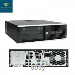 HP ELITE 8300 Desktop Windows 10 Core 2 Duo 4GB RAM 160GB HDD WiFi 19 Monitor