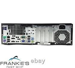 HP EliteDesk 800 G1 SFF Intel i5 8 GB RAM 500 GB HDD Win 10 USB B Grade Desktop