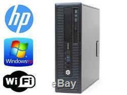HP EliteDesk 800 G1 SFF/Intel i7-4770 3.4GHz 16gb RAM 240GB SSD Win 10 Pro WIFI