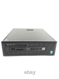 HP EliteDesk 800 G1 SFF i7-4790 3,60GHz 8GB RAM 128GB SSD 500GB HDD DVD-RW