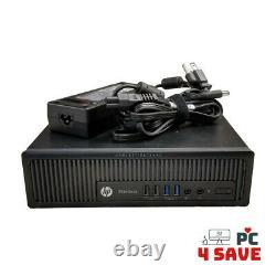 HP EliteDesk 800 G1 Small PC Intel Core i5 2.9GHz 8GB 128GB SSD Win10 HDMI USDT