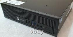 HP EliteDesk 800 G1 USDT Pentium G3220 120GB SSD 8GB WiFi Desktop PC Win 10