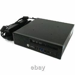 HP EliteDesk 800 G1 USFF Desktop Computer i5 Quad-Core 8GB RAM 500GB Win 10 Pro