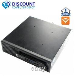 HP EliteDesk 800 G1 Ultra Slim Desktop PC Core i5 Quad-Core 8GB 500GB Win 10 Pro