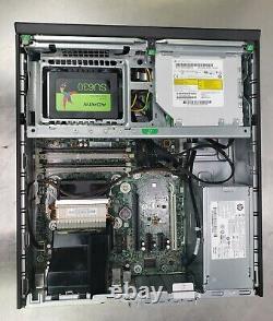HP EliteDesk 800 G1, i7-4770, 16gb RAM, 240GB SSD, 500GB, Win 10 Pro SFF Desktop