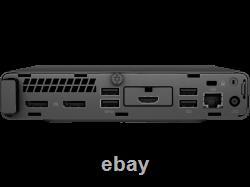 HP EliteDesk 800 G2 Mini PC, Intel i7-6700T, 16GB RAM, 256GB SSD, WiFi, Warranty