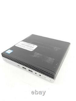 HP EliteDesk 800 G3 Mini-PC i5-6500T 4x2,50 GHz 8 GB RAM 256 GB SSD Win10Pro