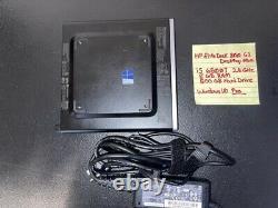 HP EliteDesk 800 G3 Mini i5 6500T 2.5GHz 8GB RAM, 500GB HD, Windows 10 Pro