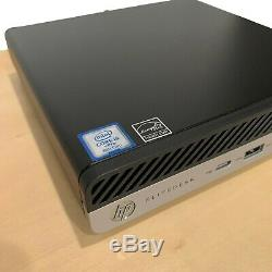 HP EliteDesk 800 G4 Desktop Mini Intel Core i5 -8500T RAM 16 GB 512GB SSD