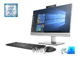 HP EliteOne 800 G4 All-in-One PC, 23.8 Full HD, i7-8700, 16GB RAM, 512GB SSD