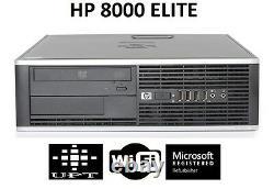HP Elite 19 LCD Windows 10 Intel Core 2 Duo 3GHz 160GB WiFi 8GB Desktop