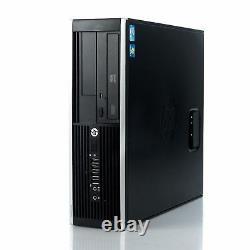 HP Elite 8200 SFF Desktop Intel i5-2400 / 8GB RAM / 128GB SSD / Windows 10 PRO