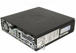 HP Elite 8200 USFF Desktop i5 2400s 8GB 128GB SSD Windows 10 Pro keyboard mice