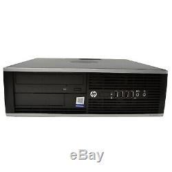 HP Elite 8300 Desktop Computer Intel i5 CPU 19 LCD Monitor 16GB Flash Drive PC