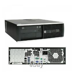 HP Elite 8300 Desktop Intel Core I5 3470 3.2 GHz 16GB 2 TB HDD Windows 10 Pro