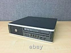 HP Elite 8300 USDT PC i5-3470s CPU, 8GB RAM, 500GB HDD, WiFi, DVDRW, Windows 10