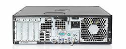 HP Elite Computer 250GB Windows 7 Pro Intel Core 2 Duo 3.1GHz 8GB DVDRW Desktop