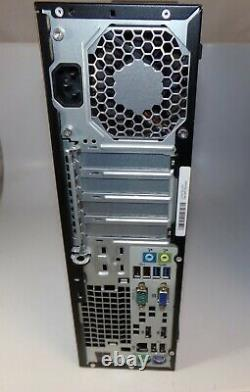HP Elitedesk 800 G1 SFF i7-4770 3.4GHz 8GB RAM 500GB HDD Windows 10 Home