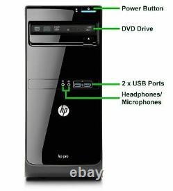 HP Gaming Computer MT i5-3470 16GB 1TB NVIDIA GT 1030 WiFi Windows 10 Desktop PC