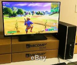 HP Gaming Computer PC Nvidia GT1030 HDMI 1TB HD 8GB RAM QUAD CORE i5 WIN 10 WiFi