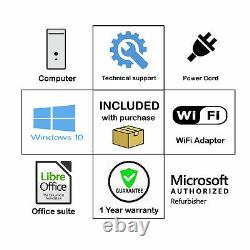 HP Gaming PC Nvidia GTX 1050 Ti DDR5 Core I5 16GB 1TB HDD WiFi HDMI Win 10