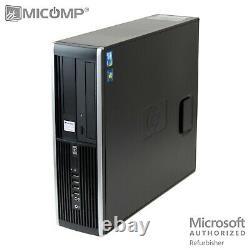 HP Intel Quad Core I5 32GB RAM 500GB HDD WiFi Windows 10 SFF Desktop Computer PC
