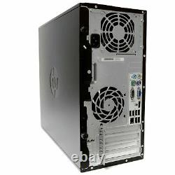HP Intel i5 Quad Core 16GB RAM 2TB Windows 10 PC Desktop Tower Computer