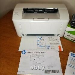HP LaserJet Pro M15A Smallest Laser Desktop Printer Monochrome 110 prints