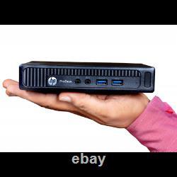HP Mini Desktop Computer EliteDesk 800 G1 Intel i5 8GB 120GB SSD Windows 10 WiFi