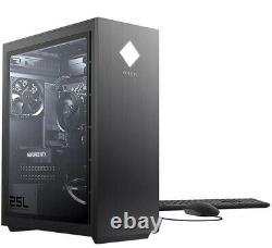 HP OMEN 25L Desktop Gaming Computer i5-10400F 8GB RAM 512G NvMe GeForce GTX 1660
