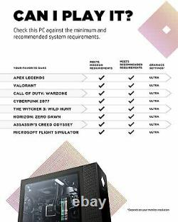 HP Omen 30L Desktop i9-10850K CPU RTX 3080, 32GB RAM, 1TB SSD+2TB HDD (GT13-0092)