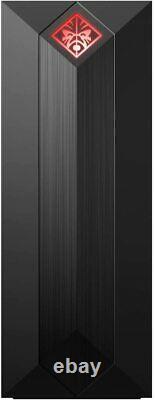 HP Omen 875-0129 Obelisk Desktop, i7-9700, 16GB RAM, 1TB HDD 256GB SSD, RTX 2060