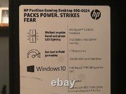 HP Pavilion (1 TB+128 GB, AMD 2nd Gen Ryzen 5, 3.06 GHz, 8 GB) Gaming Desktop