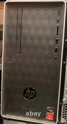 HP Pavilion 590-p0044 256GB SSD, AMD Ryzen 5 3.6 GHz, 8GB RAM, Tower PC 3LA79A